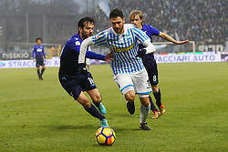 "Foto Filippo Rubin<br /> 06/01/2018 Ferrara (Italia)<br /> Sport Calcio<br /> Spal - Lazio - Campionato di calcio Serie A 2017/2018 - Stadio ""Paolo Mazza""<br /> Nella foto: LUCA RIZZO (SPAL) <br /> <br /> Photo by Filippo Rubin<br /> January 06, 2018 Ferrara (Italy)<br /> Sport Soccer<br /> Spal vs Lazio - Italian Football Championship League A 2017/2018 - ""Paolo Mazza"" Stadium <br /> In the pic: LUCA RIZZO (SPAL)"