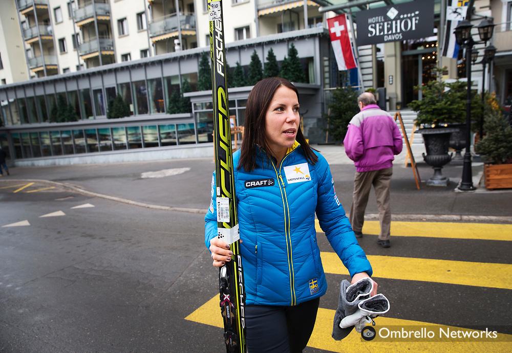 DAVOS 2014-12-15<br />VC L&Auml;NGDSKIDOR DAVOS<br />CHARLOTTE KALLA