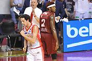 DESCRIZIONE : Venezia Lega A 2014-15 Umana Venezia-Grissin Bon Reggio Emilia  playoff Semifinale gara 7<br /> GIOCATORE :Della Valle Amedeo<br /> CATEGORIA :  Low Esultanza Mani <br /> SQUADRA : GrissinBon Reggio Emilia<br /> EVENTO : LegaBasket Serie A Beko 2014/2015<br /> GARA : Umana Venezia-Grissin Bon Reggio Emilia playoff Semifinale gara 7<br /> DATA : 11/06/2015 <br /> SPORT : Pallacanestro <br /> AUTORE : Agenzia Ciamillo-Castoria /A.Scaroni<br /> Galleria : Lega Basket A 2014-2015 Fotonotizia : Reggio Emilia Lega A 2014-15 Umana Venezia-Grissin Bon Reggio Emilia playoff Semifinale gara 7<br /> Predefinita :