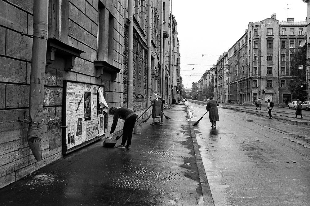 Street cleaning<br />