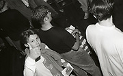 Fans at a Happy Mondays gig at the Free Trade Hall in Manchester, 1989.
