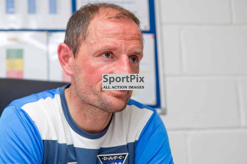 DAFC Presser East End Park 13 August 2015<br /> Allan Johnston previews saturdays game against Cowdenbeath<br /> (c) CRAIG BROWN | SportPix.org.uk