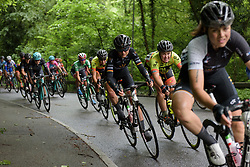 Claudia Lichtenberg and Chloe Hosking at Stage 2 of the OVO Energy Women's Tour - a 144.5 road race, starting and finishing in Stoke-on-Trent on June 8, 2017, in Staffordshire, United Kingdom. (Photo by Sean Robinson/Velofocus.com)
