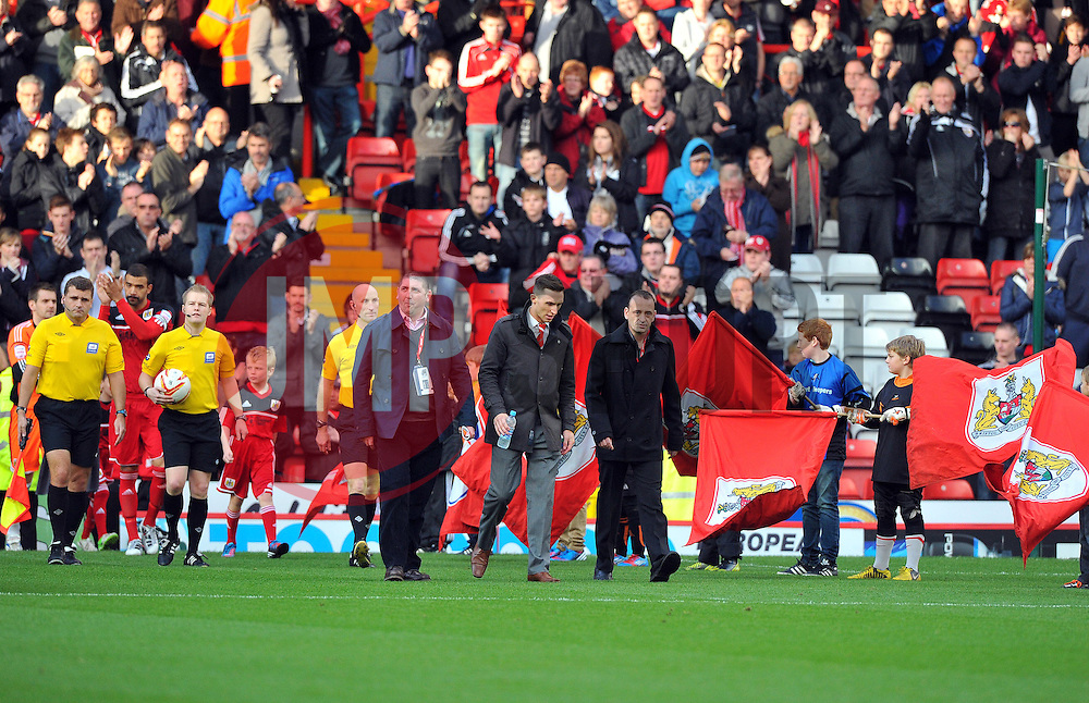 - Photo mandatory by-line: Joe Meredith/JMP  - Tel: Mobile:07966 386802 17/11/2012 - Bristol City v Blackpool - SPORT - FOOTBALL - Championship -  Bristol  - Ashton Gate Stadium -