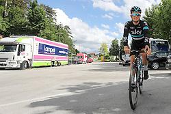 Andrew Fenn of Team SKY before press conference of cycling race Po Sloveniji - Tour de Slovenie 2015 on June 15, 2016 in Hotel Jama, Postojna, Slovenia. Photo by Morgan Kristan / Sportida