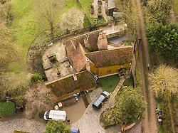 The Essex countryside home of Prodigy frontman Keith Flint where he was found dead on the morning of Monday, March 4th. North End, Colchester, Essex, March 04 2019.