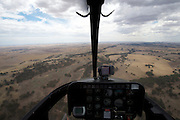Aerials from Bell Ranger 206 - 2012 Santos Tour Down Under - Adelaide - Stage 1