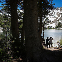 Crystal Lake Trail provides vistas of Lake Mary, Lake George as well as the destination lake, Crystal Lake. A strong winter snowfall will leave snow on the side of the trail through June and provide a picturesque backdrop once you reach Crystal Lake.