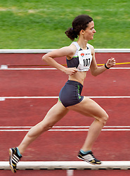 Maja Mohorovic during women 1500 m at Slovenian National Championships in athletics 2010, on July 17, 2010 in Velenje, Slovenia. (Photo by Vid Ponikvar / Sportida)