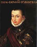 Don Juan of Austria (1547 - 1578)known as Don John of Austria, and in Spanish as Don Juan de Austria was an illegitimate son of Holy Roman Emperor Charles V. He became a military leader in the service of his half-brother, Philip of Spain and is best known for his naval victory at the Battle of Lepanto in 1571.