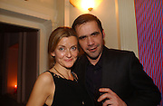 Roland Mouret, DAZED AND CONFUSED GAP RED PARTY, Groucho Club, Dean st. London. 15 March 2006. ONE TIME USE ONLY - DO NOT ARCHIVE  © Copyright Photograph by Dafydd Jones 66 Stockwell Park Rd. London SW9 0DA Tel 020 7733 0108 www.dafjones.com
