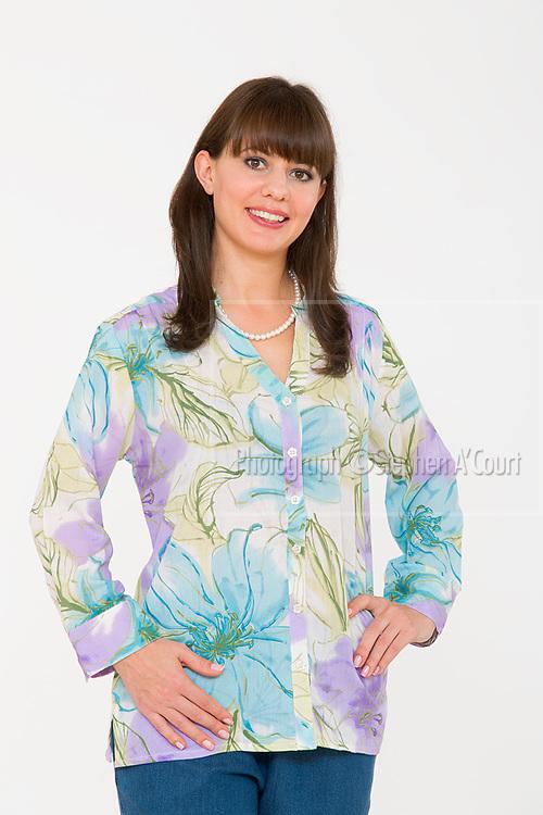 Floral Pastel Shirt. Photo credit: Stephen A'Court.  COPYRIGHT ©Stephen A'Court