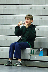 22 September 2015:   during an NCAA womens division 3 Volleyball match between the Augustana Vikings and the Illinois Wesleyan Titans in Shirk Center, Bloomington IL