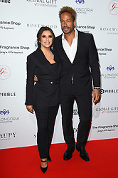 Eva Longoria Baston and Gary Dourdan attending the 9th Annual Global Gift Gala held at the Rosewood Hotel, London. Picture date: Friday November 2nd 2018. Photo credit should read: Matt Crossick/ EMPICS Entertainment.