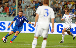 07.09.2010, Stadio Artemio Franchi, Florenz, ITA, UEFA 2012 Qualifier, Italia v Faer Oer, im Bild il gol di antonio cassano.EXPA Pictures © 2010, PhotoCredit: EXPA/ InsideFoto/ Massimo Oliva *** ATTENTION *** FOR AUSTRIA AND SLOVENIA USE ONLY! / SPORTIDA PHOTO AGENCY