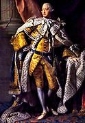 Allan Ramsay (1713–1784)  King George III (in coronation robes) 1761-1762