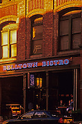 Image of the trendy neighborhood of Belltown, Belltown Bistro street scene, Seattle, Washington, Pacific Northwest