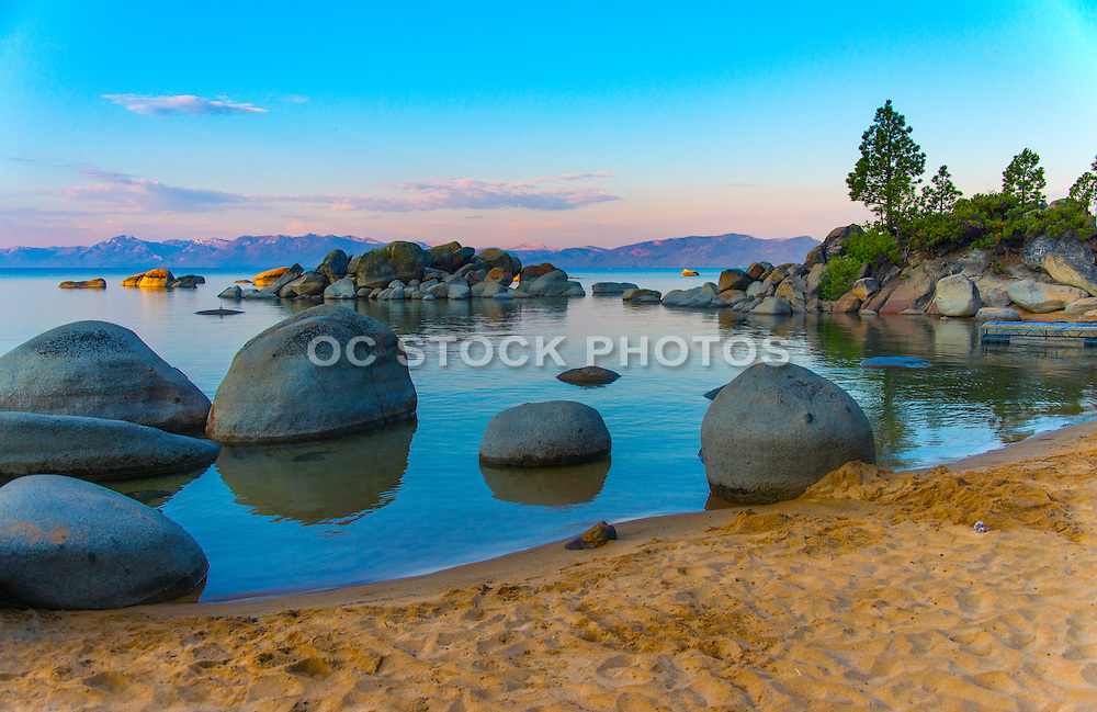 Chimney Beach East Shore Lake Tahoe