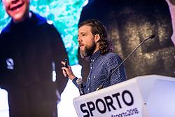 Jerry Newman of Facebook Sports during Sports marketing and sponsorship conference Sporto 2018, on November 22, 2017 in Hotel Slovenija, Congress centre, Portoroz / Portorose, Slovenia. Photo by Vid Ponikvar / Sportida