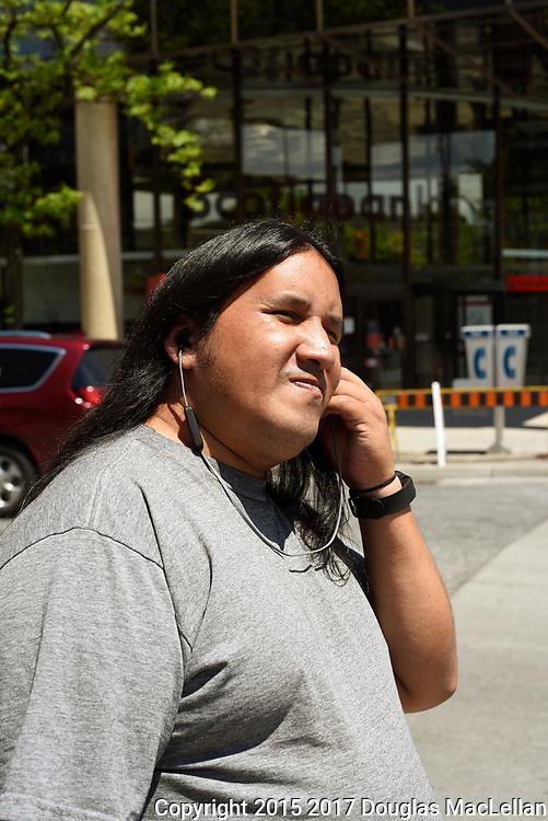 Richard Dalkeith, downtown Windsor, Ontario. June, 2017.