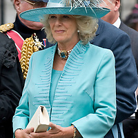 London England Sep 10th  HRH The Prince of Wales, HRH The Duchess of Cornwall, The Prime Miniter and former Prime Minister Tony Blair and Lady Thatcher  attend a Service to commemorate 30years in Northern Ireland in St Paul's Cathedral, London.