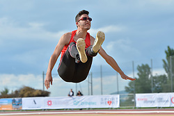 06/08/2017; Alamar Garcia, Sergio, F11, ESP at 2017 World Para Athletics Junior Championships, Nottwil, Switzerland