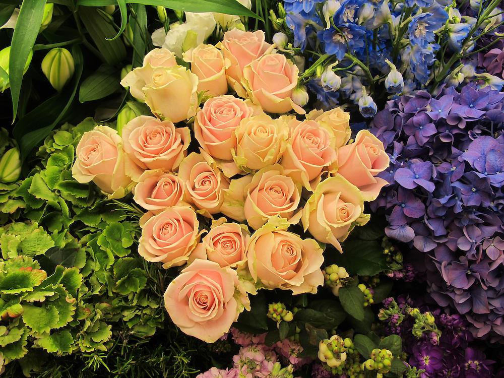Flower department at Harrods in London. Photo: Tuuli Sauren / Inspirit International Communications