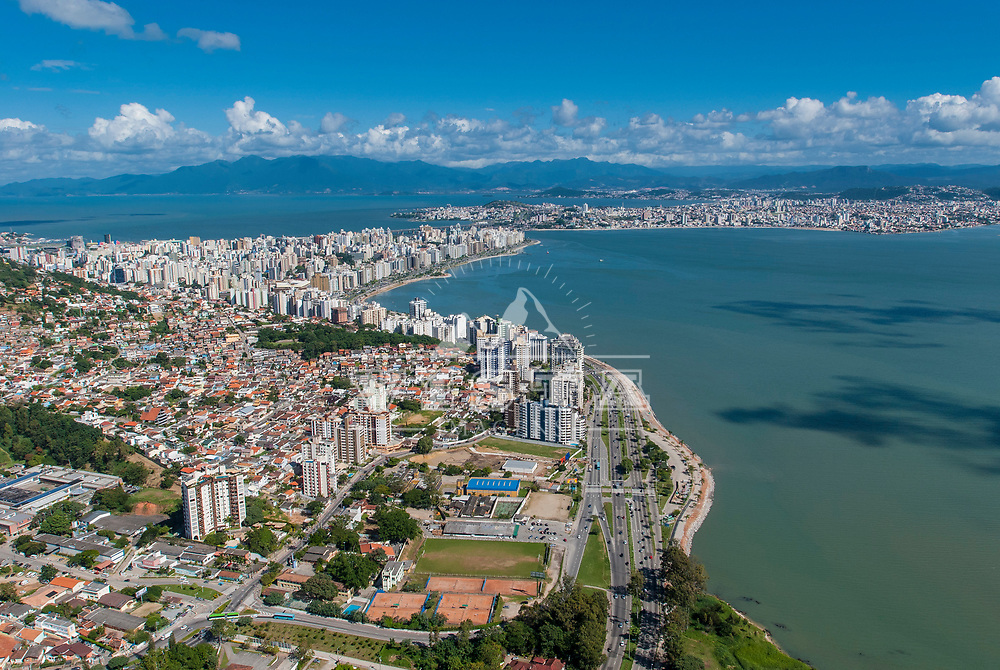 Fotos aereas da Beira Mar Norte, Florianopolis, Santa Catarina, Brasil. Foto de Ze Paiva, Vista Imagens