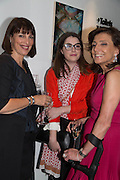 CAROLYN MCCALL; AMY BASEL; FRANCES REYNOLDS, The ICA Fundraising Gala / Intercourse 3<br /> Third annual auction and party to raise money for the ICA New Commissions Fund. Institute of Contemporary Arts, The Mall, London, SW1. 19 June 2013.