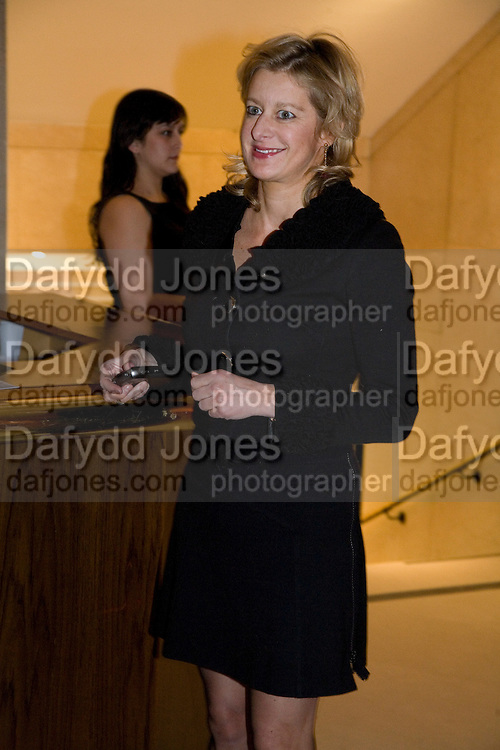 ALISON JACKSON, Figures of Speech ICA Fundraising Gala dinner. Lawrence Hall, Victoria. London. 27 February 2008 *** Local Caption *** -DO NOT ARCHIVE-© Copyright Photograph by Dafydd Jones. 248 Clapham Rd. London SW9 0PZ. Tel 0207 820 0771. www.dafjones.com.