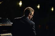 David Goldblatt performing for the Portland Jazz Festival at Classic Pianos