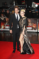 Kimberly Wyatt; Max Rogers, A Good Day To Die Hard - UK Film Premiere, Empire Cinema Leicester Square, London UK, 07 February 2013, (Photo by Richard Goldschmidt)
