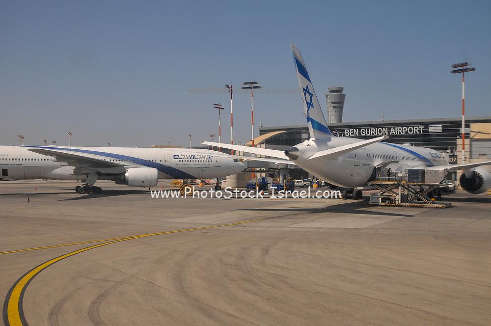 Israel, Tel Aviv, Ben-Gurion international Airport, Terminal 3