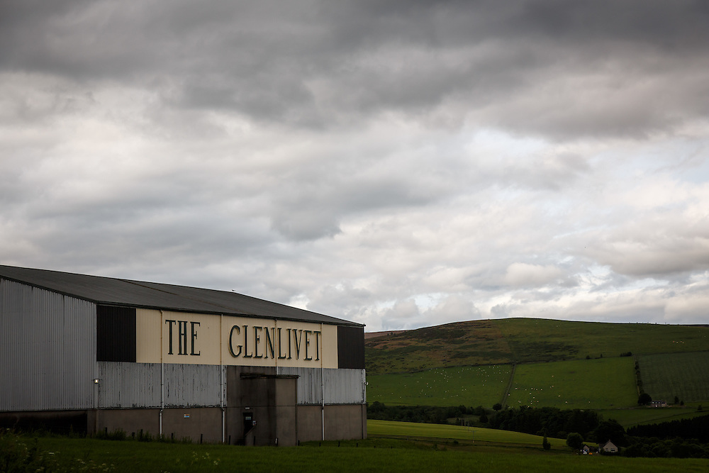The Glenlivet Distillery in Glenlivet, Ballindaloch, Scotland, July 11, 2015. Gary He/DRAMBOX MEDIA LIBRARY