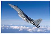 F-15A in climb, air-to-air