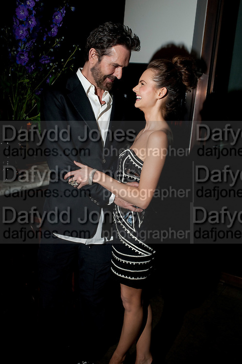 RUPERT EVERETT; KARA TOINTON;, The aftershow party for PYGMALION. National Gallery Gallery CafŽ, London.  May 25, 2011,<br /> <br /> <br /> <br />  , -DO NOT ARCHIVE  Copyright Photograph by Dafydd Jones. 248 Clapham Rd. London SW9 0PZ. Tel 0207 820 0771. www.dafjones.com.<br /> RUPERT EVERETT; KARA TOINTON;, The aftershow party for PYGMALION. National Gallery Gallery Caf&eacute;, London.  May 25, 2011,<br /> <br /> <br /> <br />  , -DO NOT ARCHIVE  Copyright Photograph by Dafydd Jones. 248 Clapham Rd. London SW9 0PZ. Tel 0207 820 0771. www.dafjones.com.