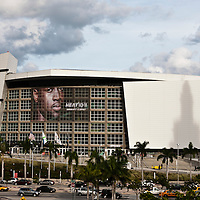 19 November 2010: View of the AmericaAirlines Arena prior to the Miami Heat 95-87 victory over the Charlotte Bobcats at the AmericanAirlines Arena, Miami, Florida, USA.