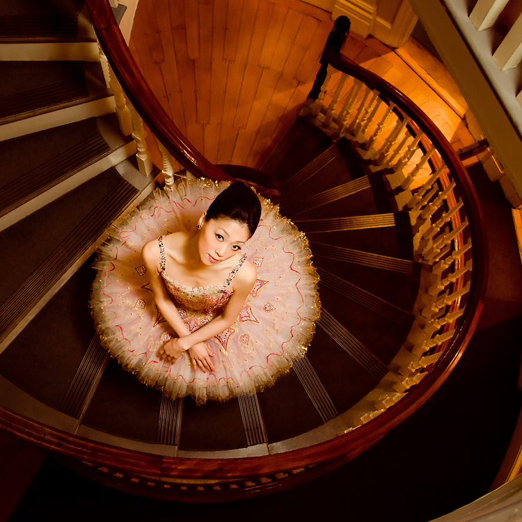 Misa Kuranaga for Boston Ballet at the Old State House, Boston MA