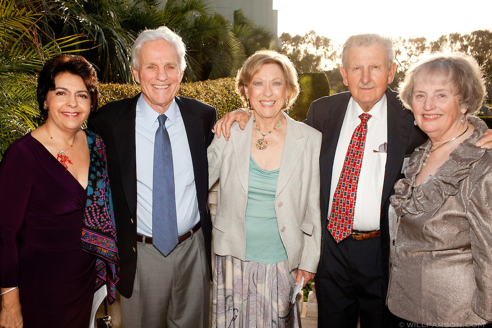Yolanda Walther-Meade, Dr. Richard Atkinson, Diane and Jim Marinos, and Robin Cuby.
