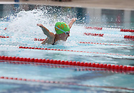 Peyton Ross, 12, swims in the girls 11-12 50 yard Butterfly event during the annual All City Competitive Swim Meet at Cherry Hill Aquatic Center in Cedar Rapids on Saturday, July 23, 2011. Swimmers ages 4 to 17 years old from all over the city competed in 74 events.