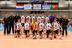 01-09-2012 VOLLEYBAL: WORLD LEAGUE 2013 QUALIFICATION NETHERLANDS - PORTUGAL : ROTTERDAM<br /> The Netherlands