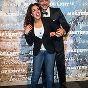 NLD/Amsterdam/20141211- Opening Masters of LXRY 2014, Aicha Marghadi en Luca Sapazzi