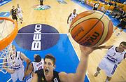 DESCRIZIONE : Lubiana Ljubliana Slovenia Eurobasket Men 2013 Preliminary Round Germania Gran Bretagna Germany Great Britain<br /> GIOCATORE : Tibor Pleiss<br /> CATEGORIA : tiro shot special<br /> SQUADRA : Germania Germany<br /> EVENTO : Eurobasket Men 2013<br /> GARA : Germania Gran Bretagna Germany Great Britain<br /> DATA : 08/09/2013 <br /> SPORT : Pallacanestro <br /> AUTORE : Agenzia Ciamillo-Castoria/T.Wiedensohler<br /> Galleria : Eurobasket Men 2013<br /> Fotonotizia : Lubiana Ljubliana Slovenia Eurobasket Men 2013 Preliminary Round Germania Gran Bretagna Germany Great Britain<br /> Predefinita :