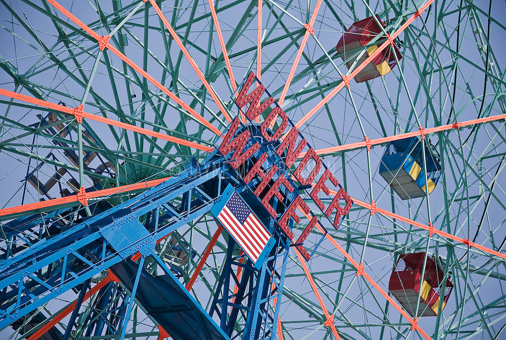 Wonder Wheel ride, Coney Island, NY