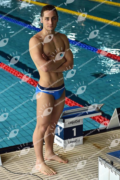 Francesco Pavone  Esercito<br /> Head<br /> Stadio del Nuoto Riccione<br /> Campionati Italiani Nazionali Assoluti Nuoto Primaverili Fin <br /> Riccione Italy 20-04-2016<br /> Photo &copy; Andrea Staccioli/Deepbluemedia/Insidefoto