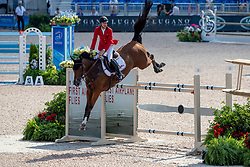 DEVOS Pieter (BEL), Espoir<br /> Tryon - FEI World Equestrian Games™ 2018<br /> 2. Qualifikation Teamwertung 1. Runde<br /> 20. September 2018<br /> © www.sportfotos-lafrentz.de/Stefan Lafrentz