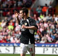 Photo: Mark Stephenson/Richard Lane Photography. <br /> Sheffield United v Cardiff City. Coca-Cola Championship. 19/04/2008. <br /> Bristol's Michael McIndoe celebrates his goal