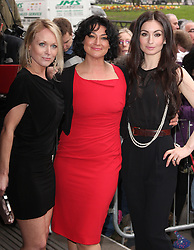 EMMERDALE STARS, MICHELLE HARDWICK, NATALIE J ROBB and ROKHSANEH GHAWAM SHAHIDI attends the 2014 TRIC Awards at The Grosvenor House Hotel, London, United Kingdom. Tuesday, 11th March 2014. Picture by i-Images