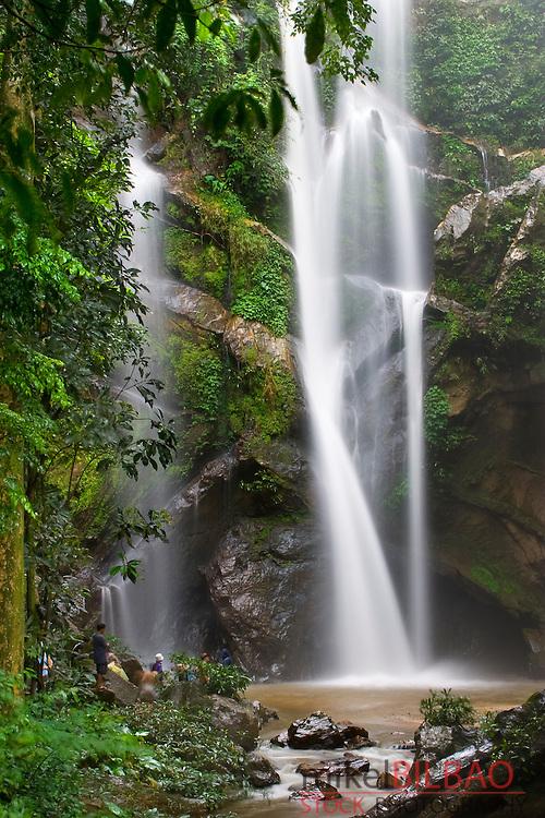 Mork-Fa waterfall. Doi Suthep-Pui National Park. Chiang Mai province. Thailand