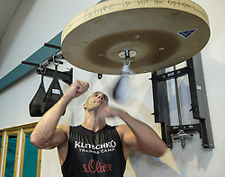 11.11.2015, Stanglwirt, Going, AUT, Wladimir Klitschko, Training, Kampfvorbereitung gegen Tyson Fury (GBR), im Bild Wladimir Klitschko // Wladimir Klitschko during a training session in front of his Fight against Tyson Fury (GBR) at the Stanglwirt in Going, Austria on 2015/11/11. EXPA Pictures © 2015, PhotoCredit: EXPA/ Johann Groder